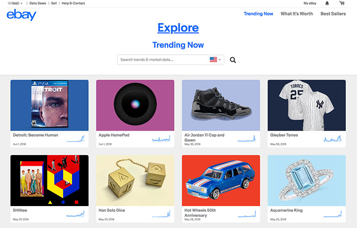 eBay Explore